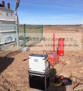 新疆 哈密思甜东风力发电厂  35KV电缆串联谐振耐压试验